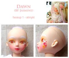 BJD - Dawn - Faceup 1