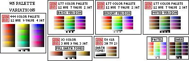 Pixel Palette - Variations by almyki