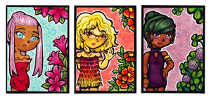 ATC Daybloom Series Complete by almyki