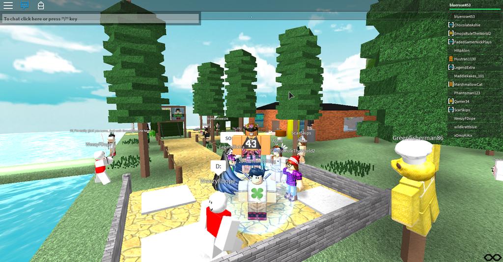 a roblox screenshot :3 by CookieLuuve