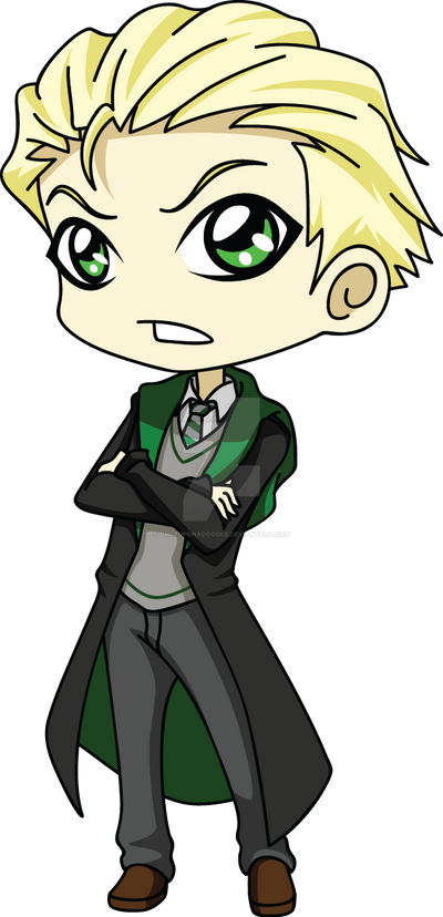 chibi draco by onceuponadoodle on deviantart