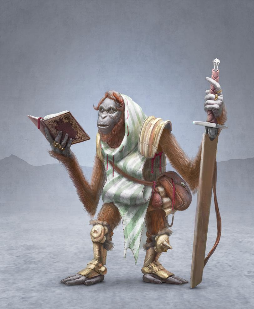 Monkeys by zimetajs