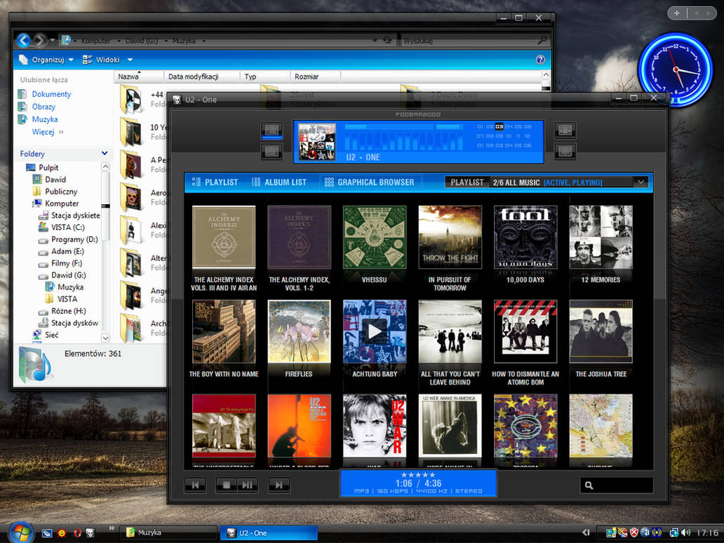 Foobar2000 + INVI 4V style