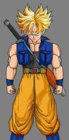 Future Trunks by hsvhrt