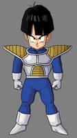 Kid Gohan Saiyan Armor