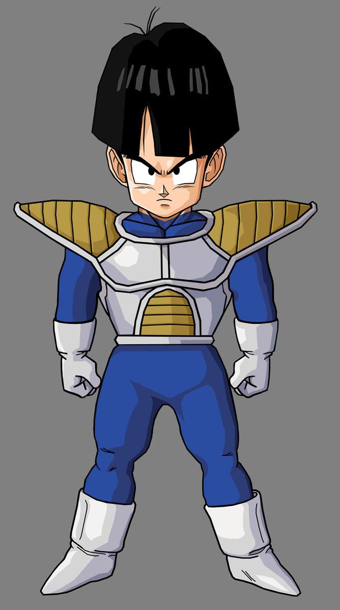 Kid Gohan Saiyan Armor by hsvhrt