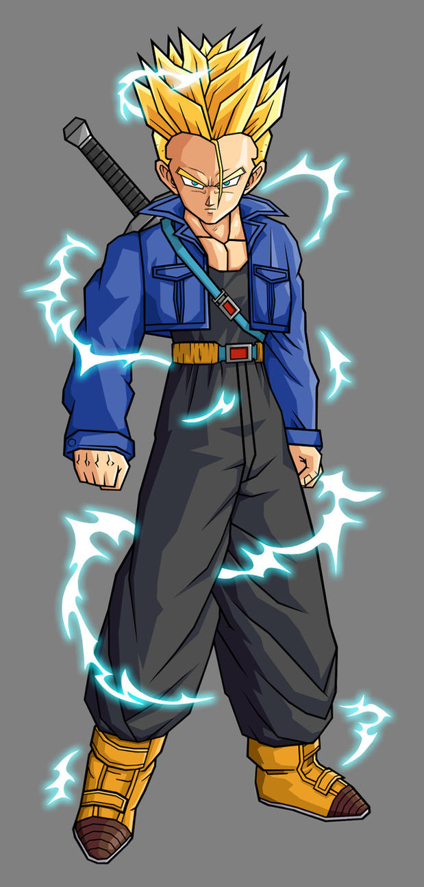 dragonbal afeter future a saga do olinpo Trunks_SSJ2_by_hsvhrt