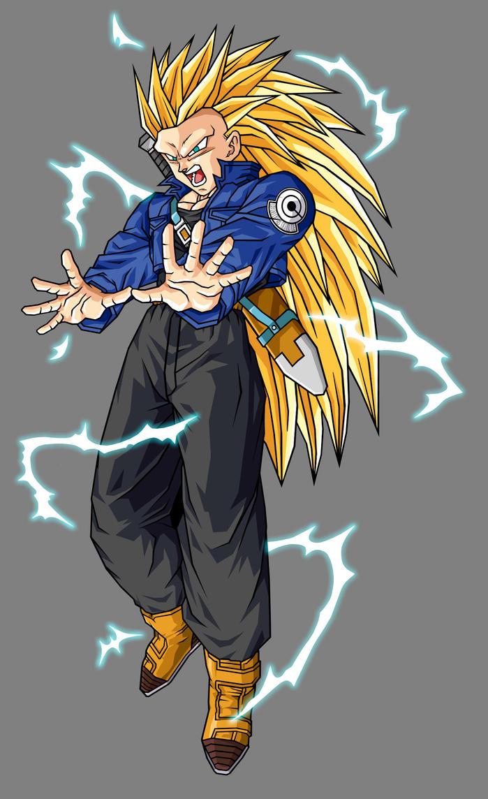 Dragon Ball Z Trunks SSJ3