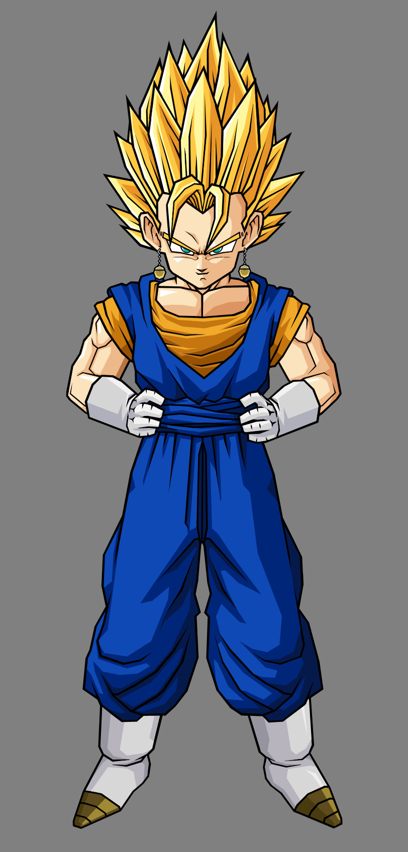 Kid Super Vegito By Hsvhrt On DeviantArt