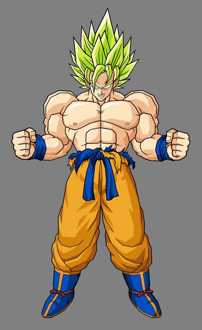 Goku LSSJ by hsvhrt