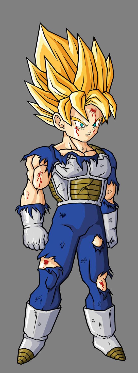 Goku Saiyan Armor