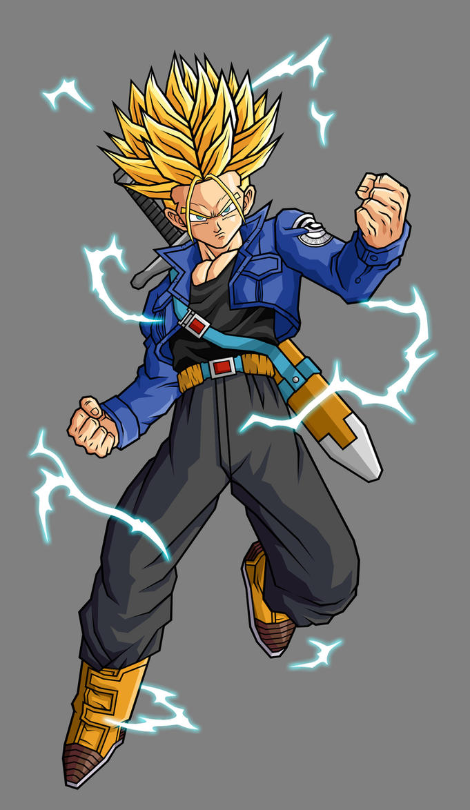 Future Trunks, SSJ2 by hsvhrt on - 150.8KB