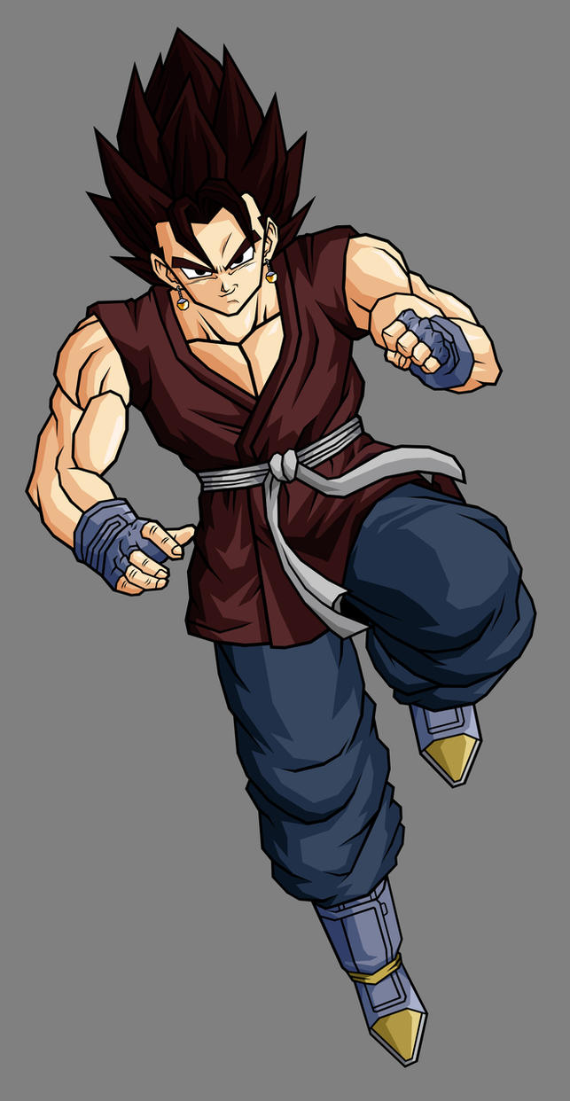 Vegetto gt by hsvhrt on deviantart