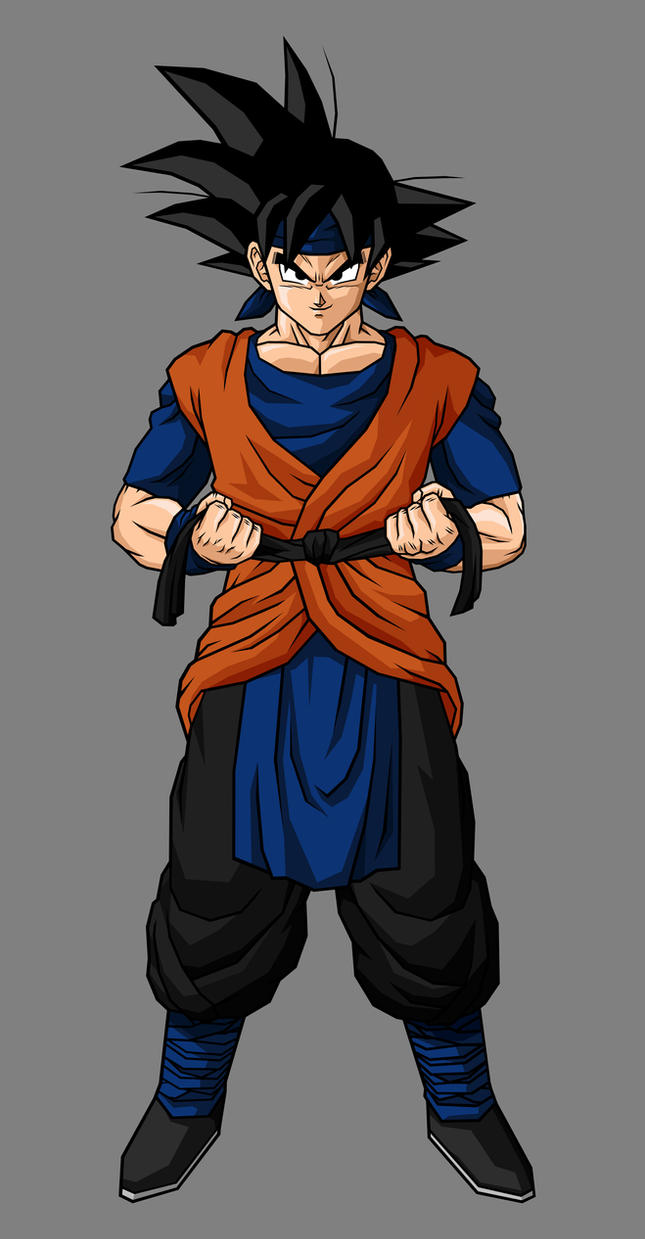 Adult Goku Jr. by hsvhrt