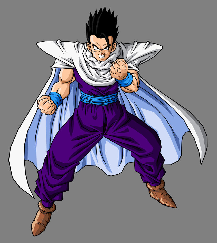 Mystic Gohan, Cell Saga Outfit by hsvhrt