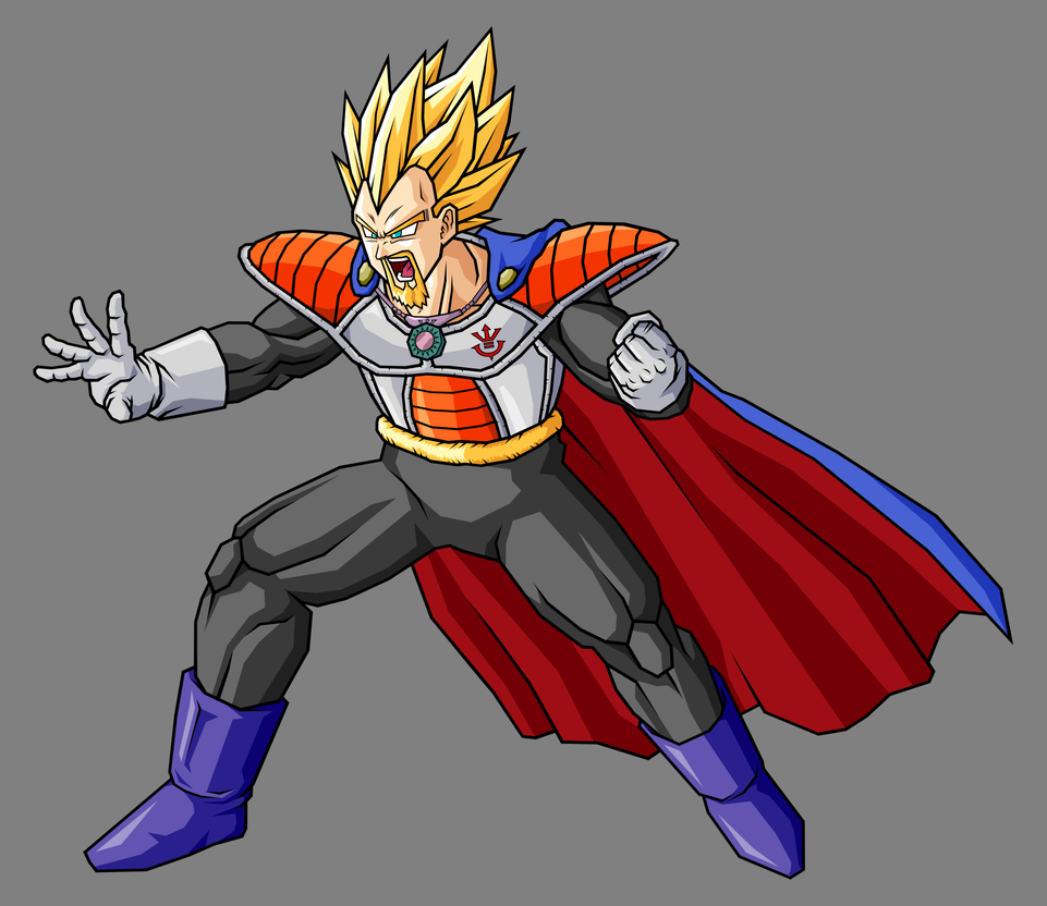 King Vegeta, SSJ by hsvhrt on DeviantArt
