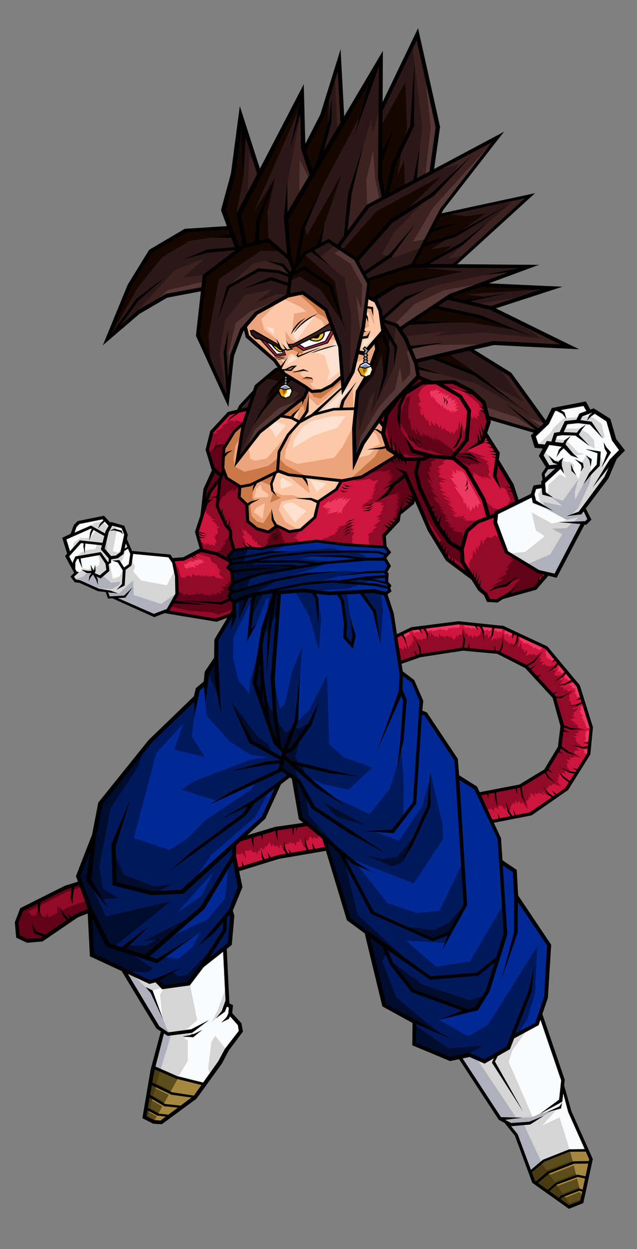 Vegetto, SSJ4 Alt Colors by hsvhrt