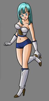 Bulma, Saiyan Armor (New Armor)