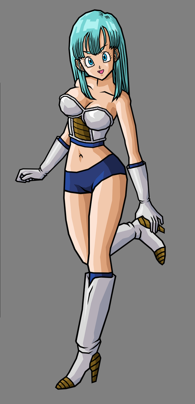 Bulma, Saiyan Armor (New Armor) by hsvhrt
