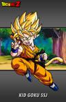 Kid Goku SSJ by hsvhrt