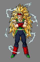 Bardock Super Saiyan 3 by hsvhrt
