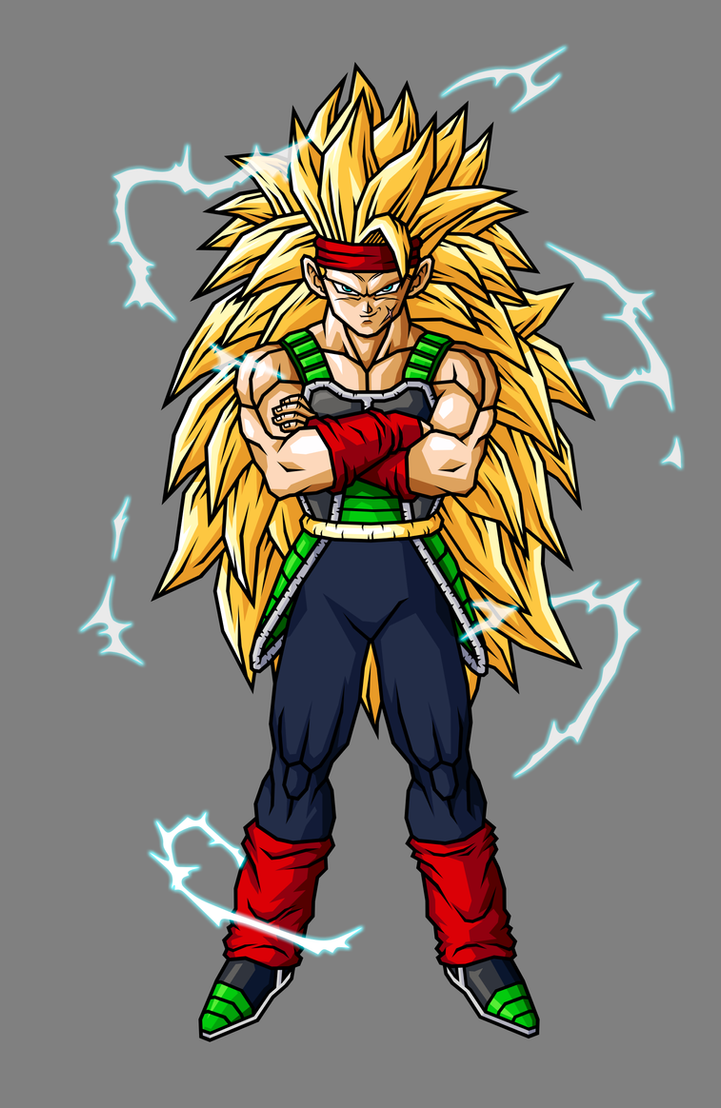 Bardock Super Saiyan 3 by hsvhrt