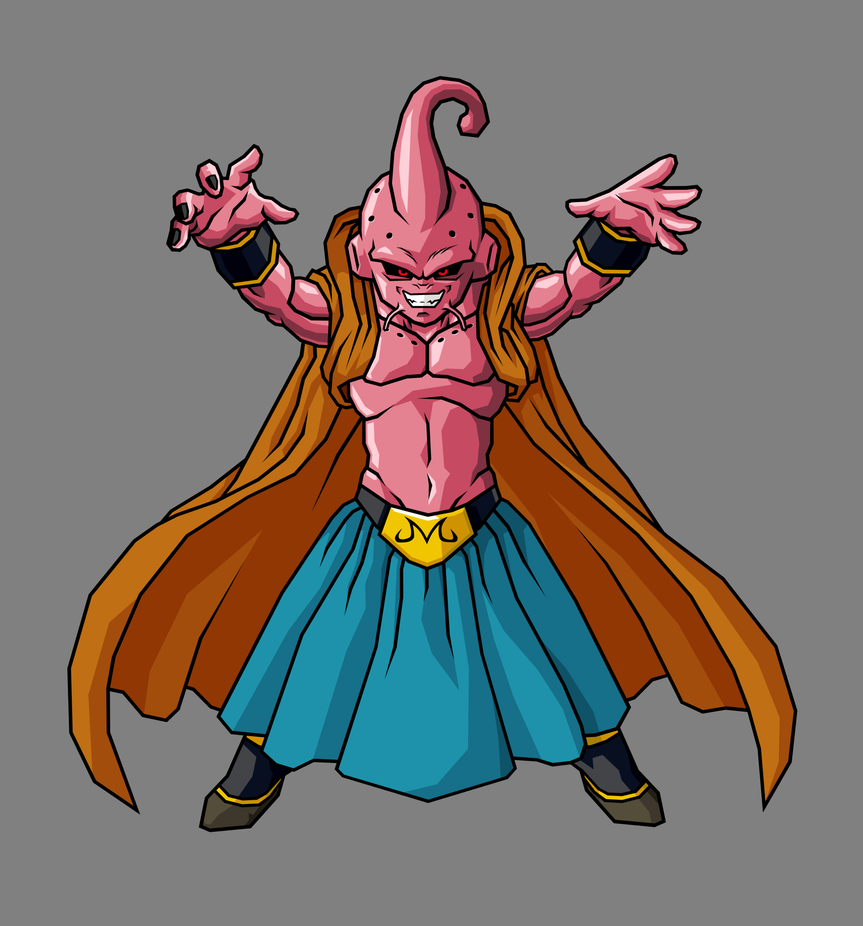 Kid Buu, Babidi Absorbed by hsvhrt