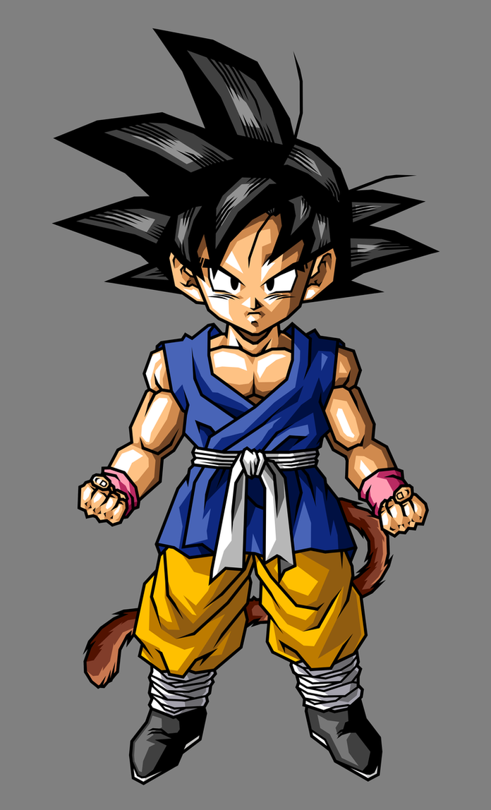 Kid goku gt by hsvhrt on deviantart - Dragon ball gt goku wallpaper ...