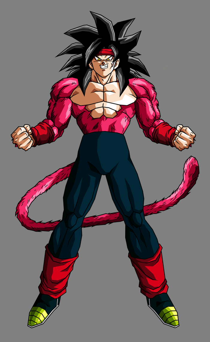 Bardock Super Saiyan 4 by hsvhrt