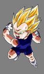 Vegeta Jr. by hsvhrt