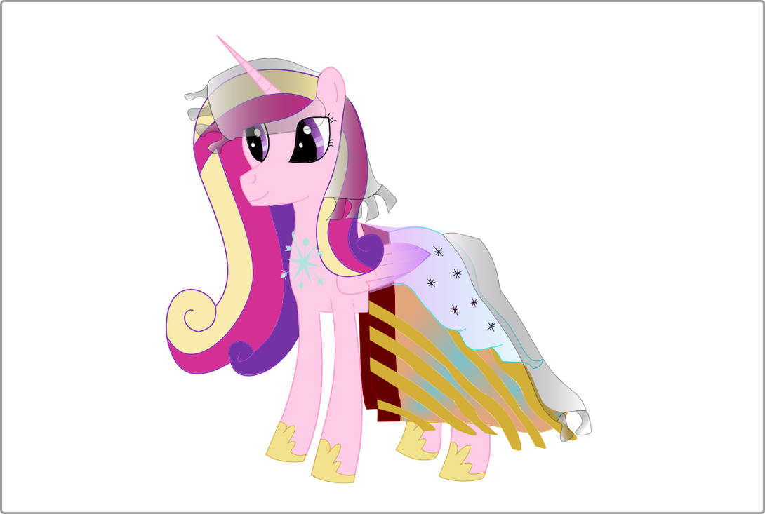cadance_and_her_amazing_dress_by_frozent