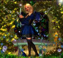 Blue Angel by im1happy