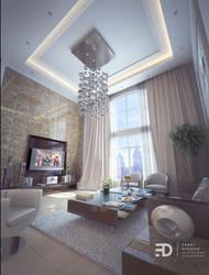 One Family Room Visualization by Fdjohan19