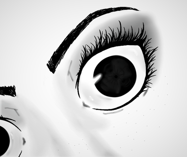 Eyes by dragonsoul2325