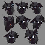 [Comm]Nightfire - Expression Sheets.