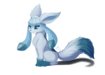 Glaceon painting