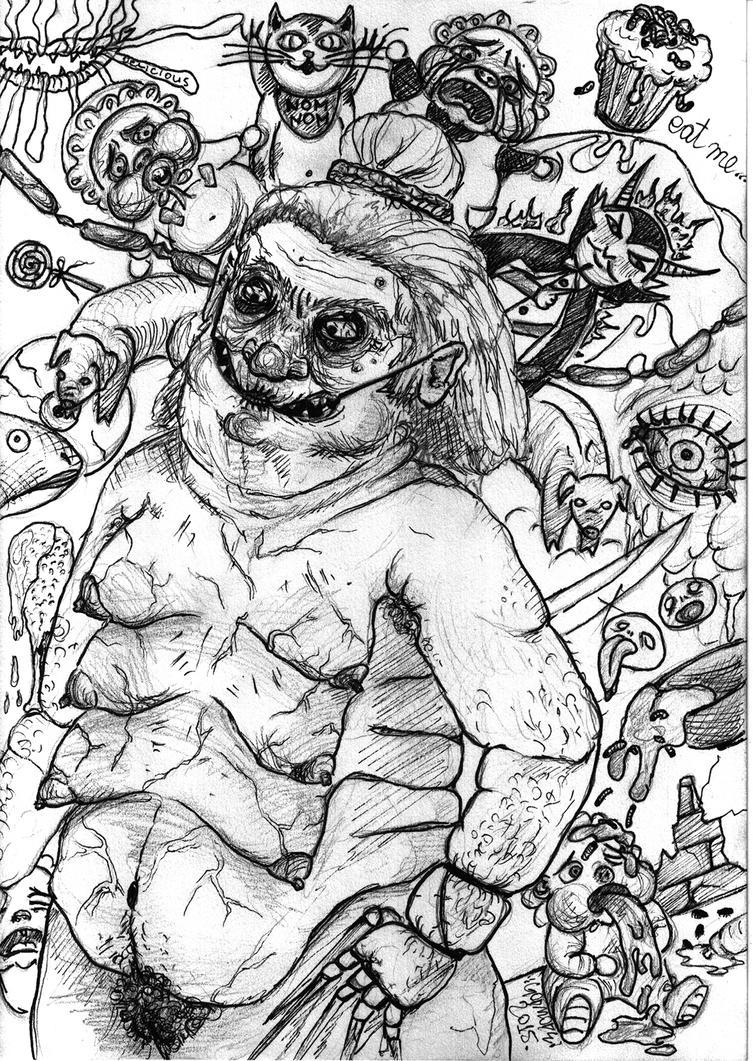 feeding demon by inuria-godmode