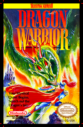 Dragon Warrior Nes Cartridge Art L By Deadly Rhythm On Deviantart