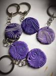 Tali Style key rings by Shaya-Fury