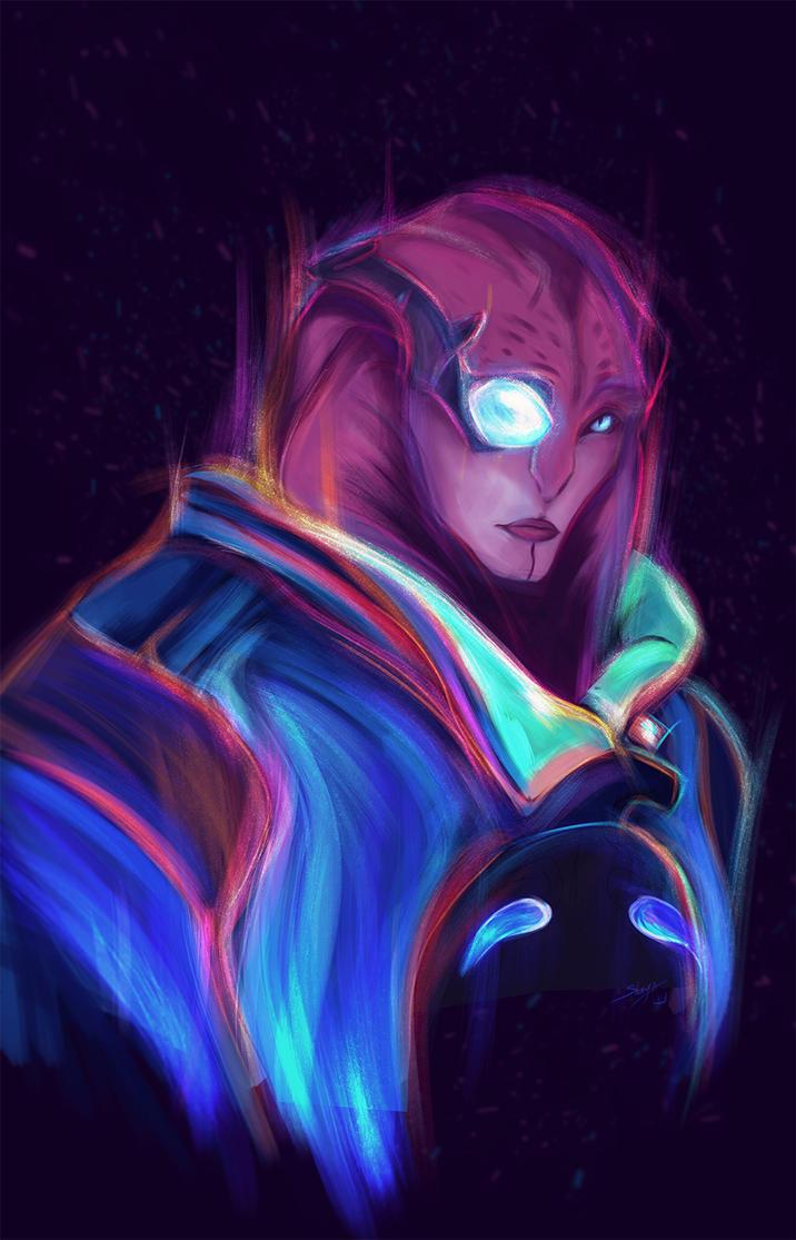 Neon Jaal by Shaya-Fury