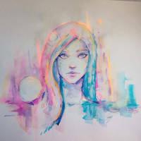 Neon noises by Shaya-Fury