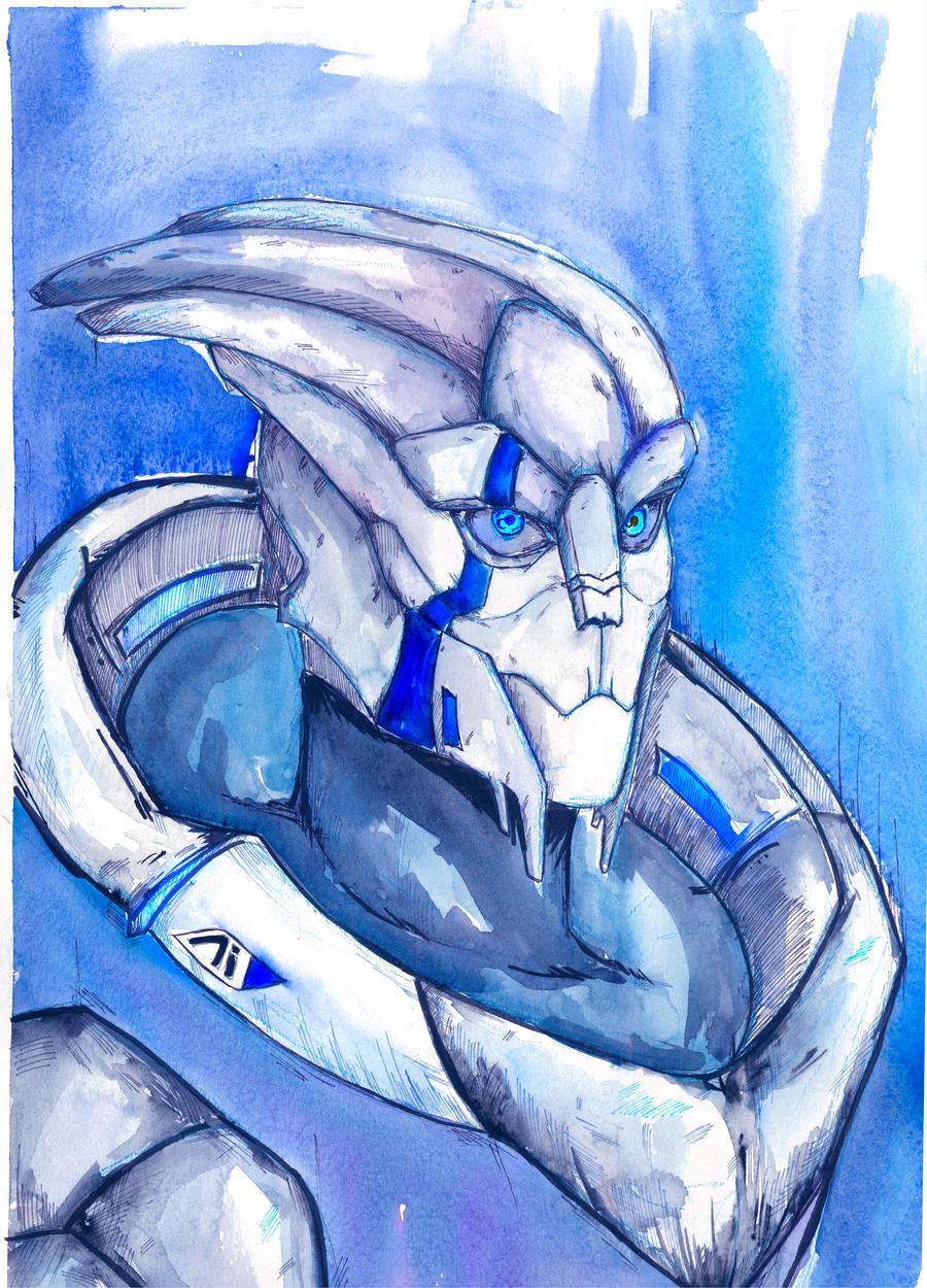 Andromeda Turian by Shaya-Fury