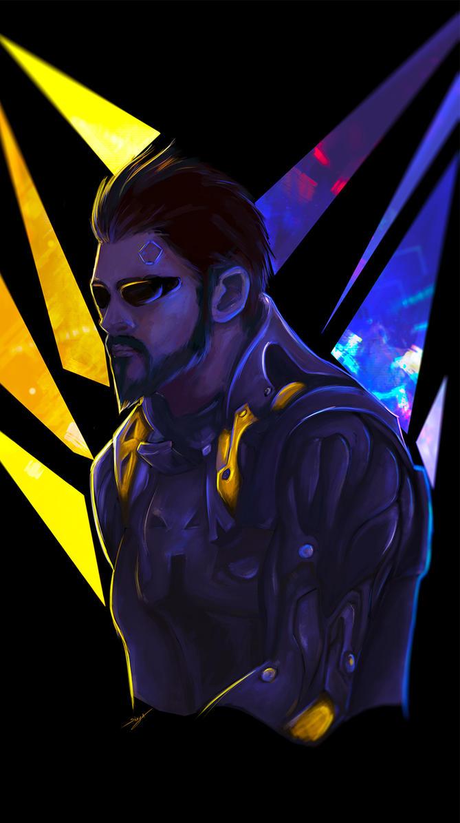 Neon Lights Deus Ex