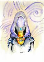 Shaya's Little Sketchbook: Tali`Zorah by Shaya-Fury
