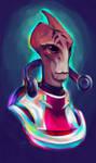 Neon Mordin... Had to be him by Shaya-Fury