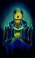 Neon Thane Krios by Shaya-Fury