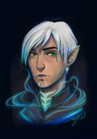 Neon Fenris by Shaya-Fury