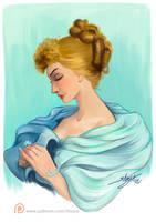 Portrait of a Woman by Shaya-Fury