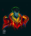 NEON Javik by Shaya-Fury