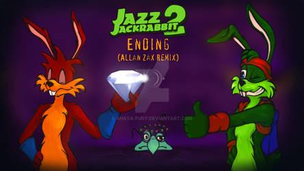 Commission fan art Jazz Jackrabbit 2